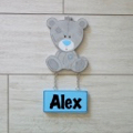 Kids Door Plaque - Teddy Boy