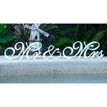 Mr and Mrs wedding words